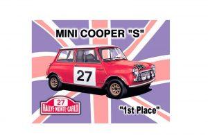 Plaque Mini Cooper BG
