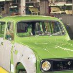 Entre Quatrelle, 4L et Renault 4.