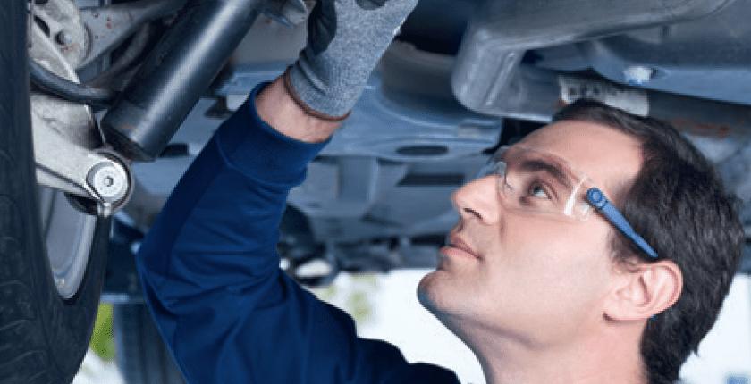 changer les pièces de suspension