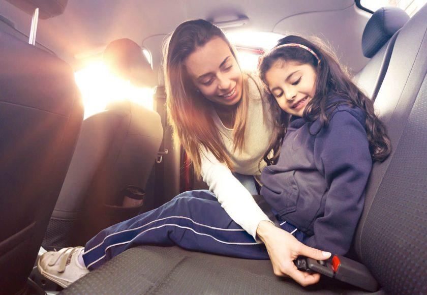 conduire les enfants à l'école