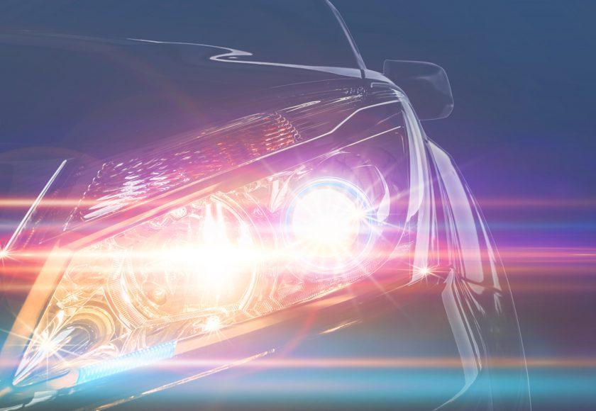 éclairage auto