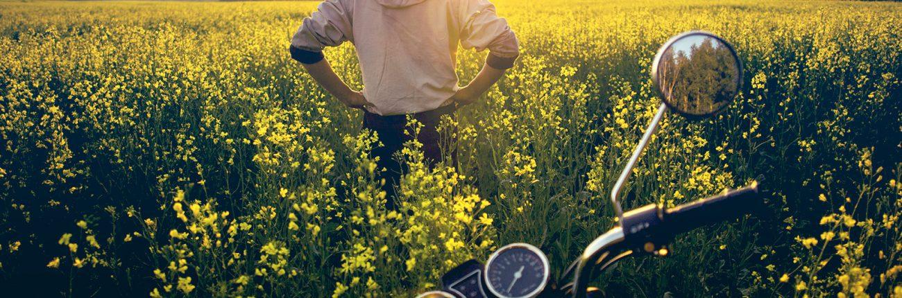 balader en moto