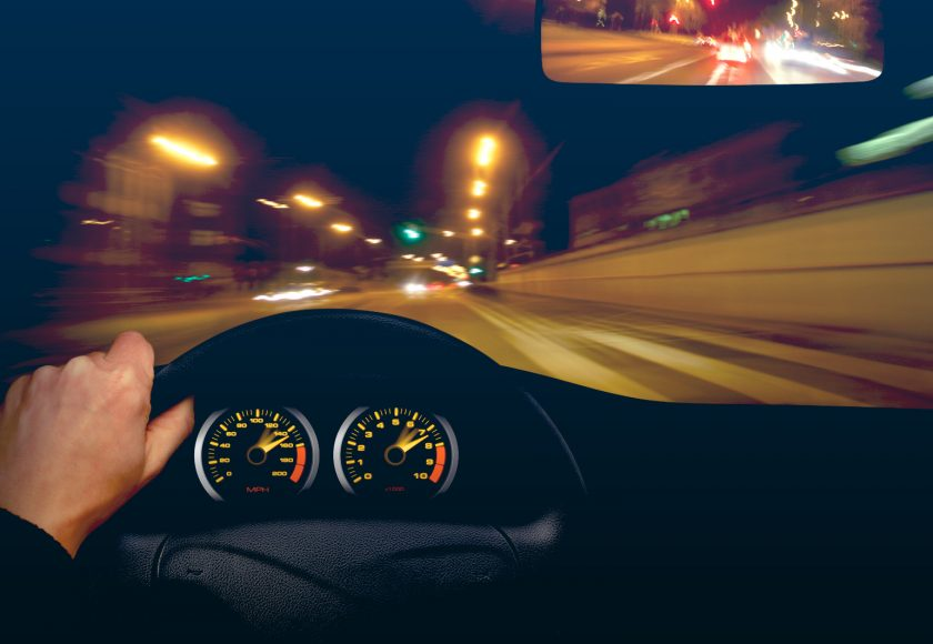 rouler de nuit